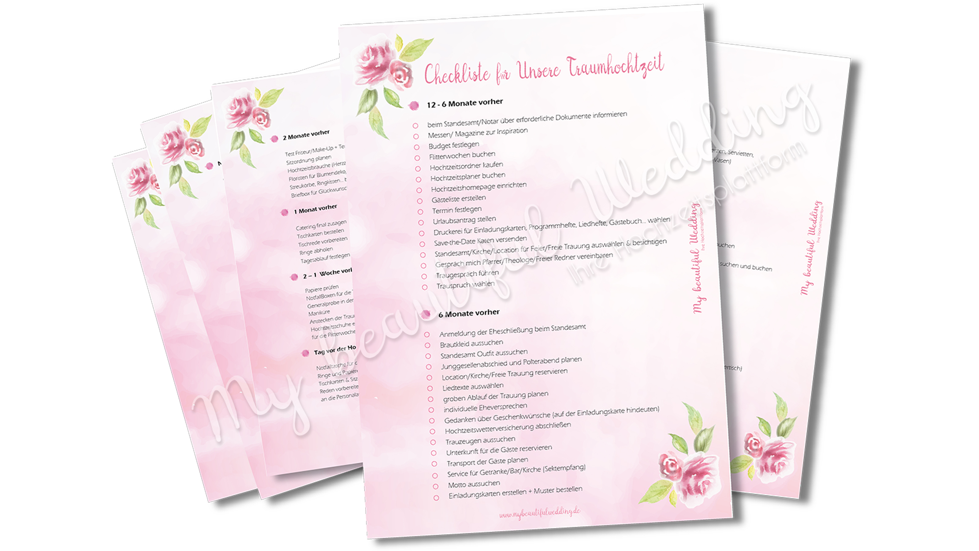 Checkliste - Mybeautifulwedding
